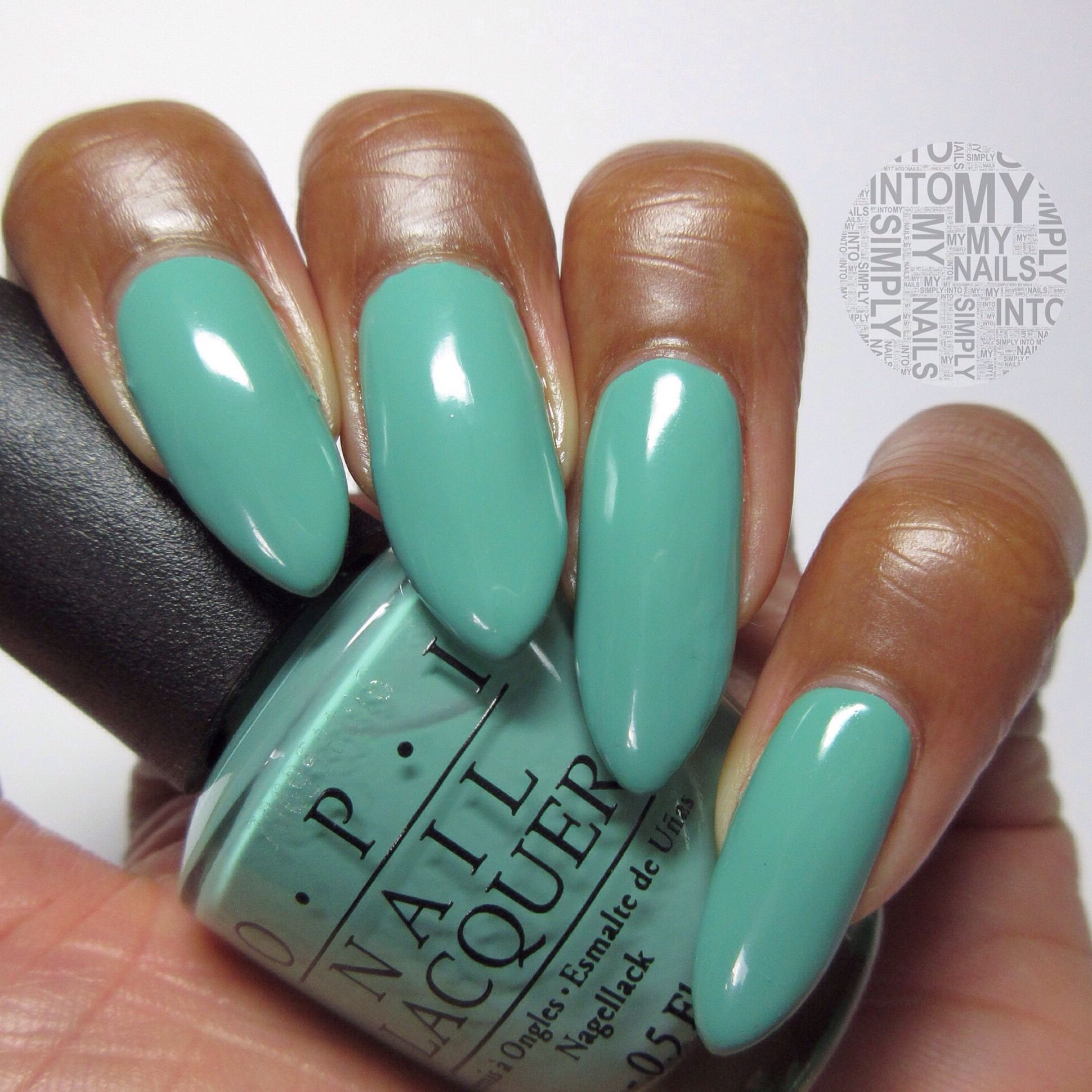 OPI My Dogsled Is A Hybrid from the Nordic collection | Mani n pedi ...