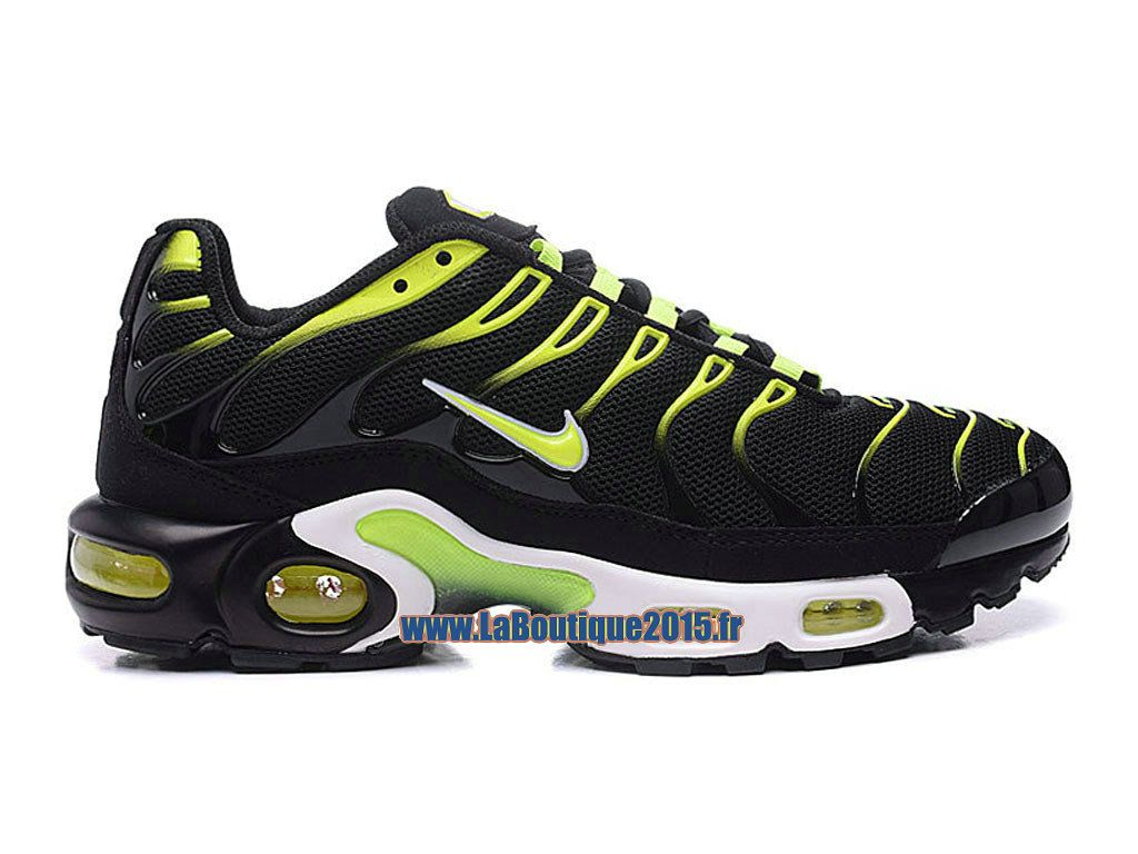 Chaussures Nike Air Max Tn Noir/ Jaune/ Rouge/ Vertical Line