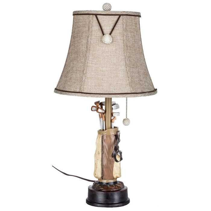 Resin Golf Lamp