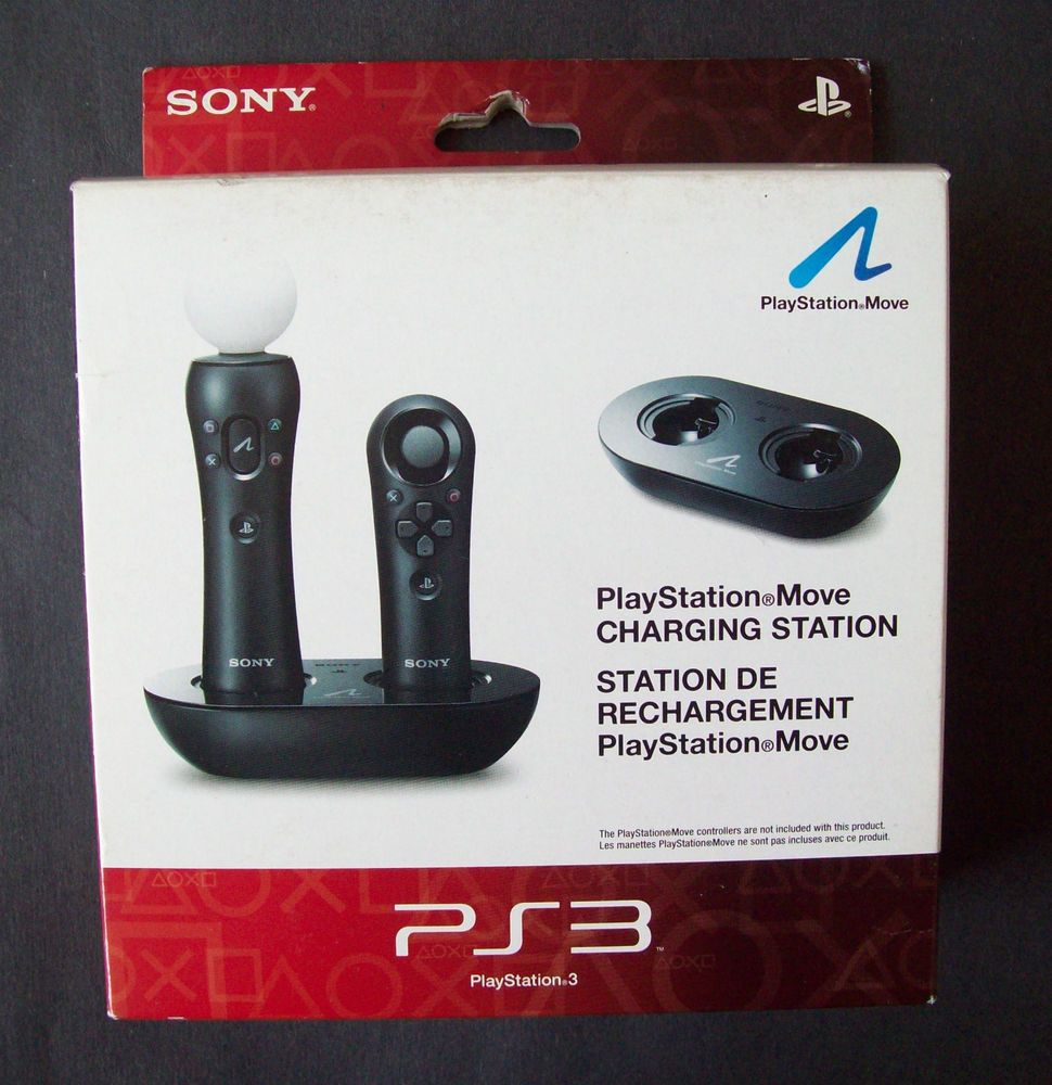 Sony Playstation Move Charging Station For Ps3 Item Cech Zcc1u Model 98060 Playstation Move Playstation Sony Playstation