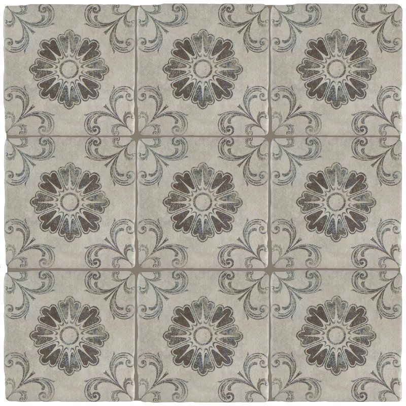 Diego 8 X 8 Ceramic Field Tile Spanish Style Tile Spanish Style Homes Contemporary Home Decor
