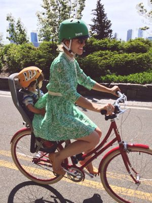 Tips For Biking With Your Kids From Moms Who Bike Bike Style