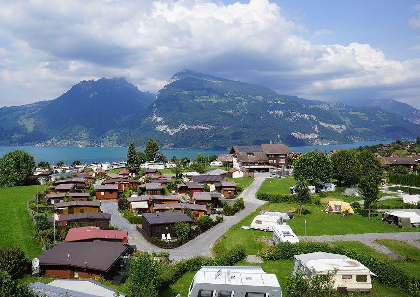 Camping-Stuhlegg Krattigen   Camping, Galerij, Zwitserland
