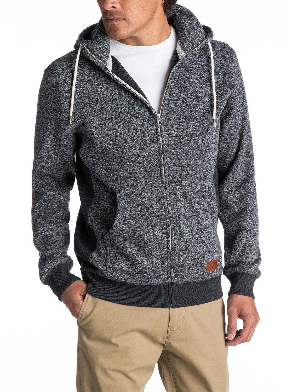 Keller Zip Up Polar Fleece Hoodie Eqyft03661 Full Zip Hooded Sweatshirt Mens Sweatshirts Fleece Hoodie [ 1500 x 1117 Pixel ]