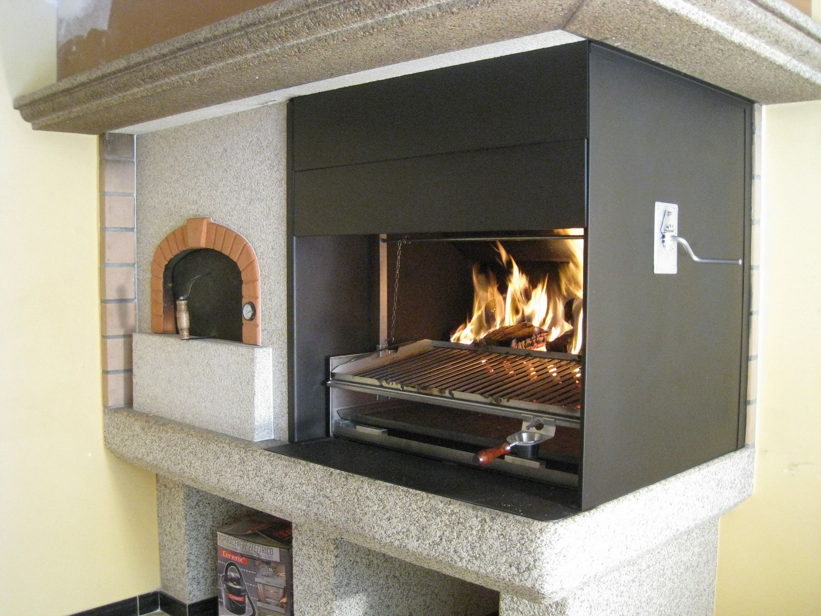 Horno punto alfapizza barbacoa kitchens and fire pit grill - Barbacoas de obra ...