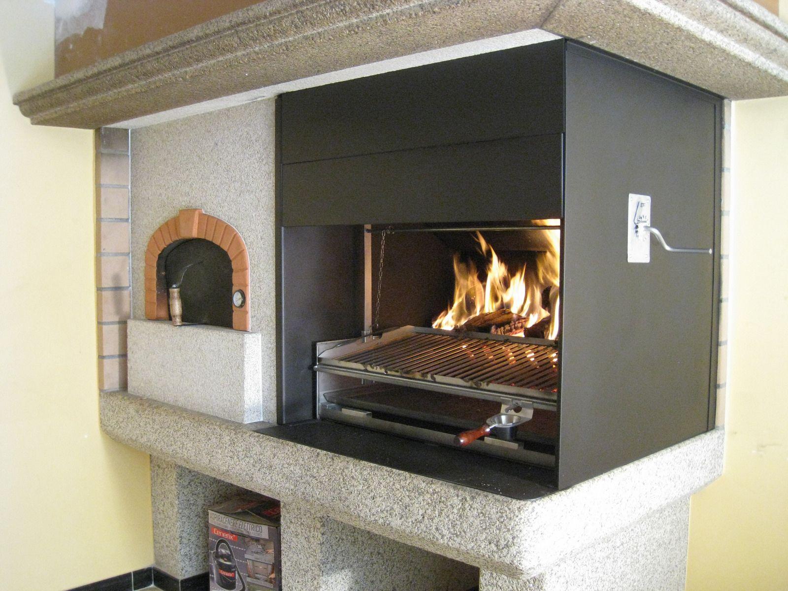 Horno punto alfapizza barbacoa kitchens and fire pit grill - Barbacoa obra ...