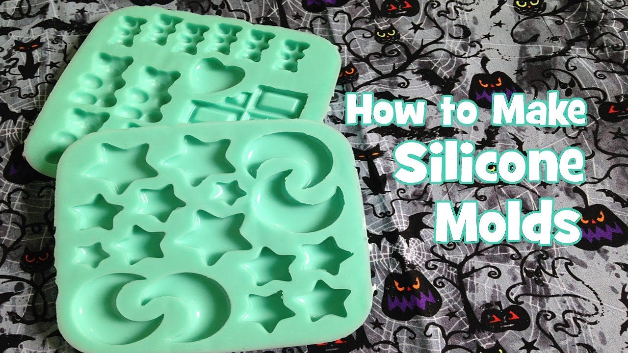 How to Make Silicone Molds YouTube Silicone molds, How