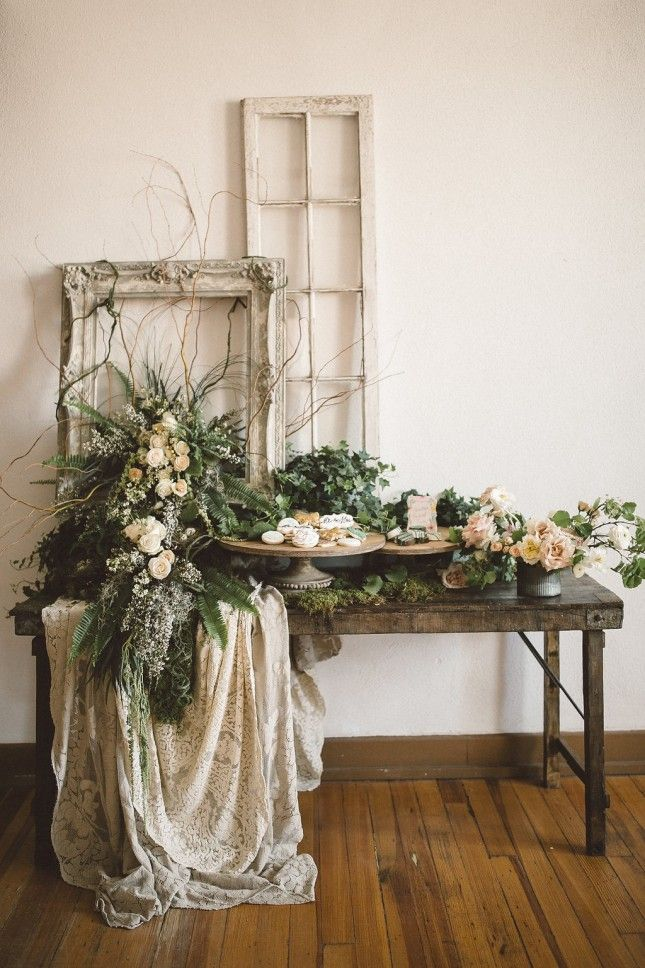 Get Ready to Swoon Over This Ethereal Garden-Inspi