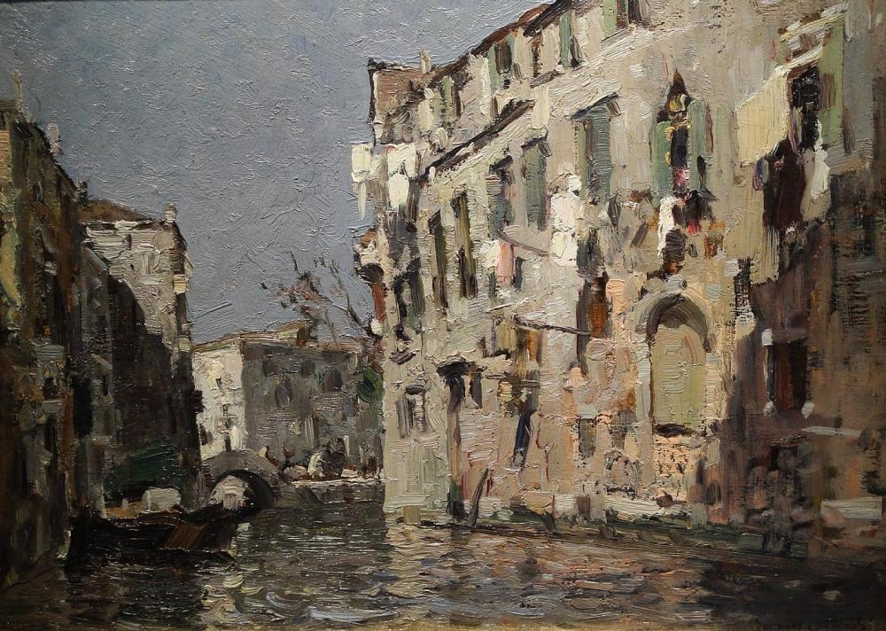 Canal by Emma Ciardi Bellissimi dipinti