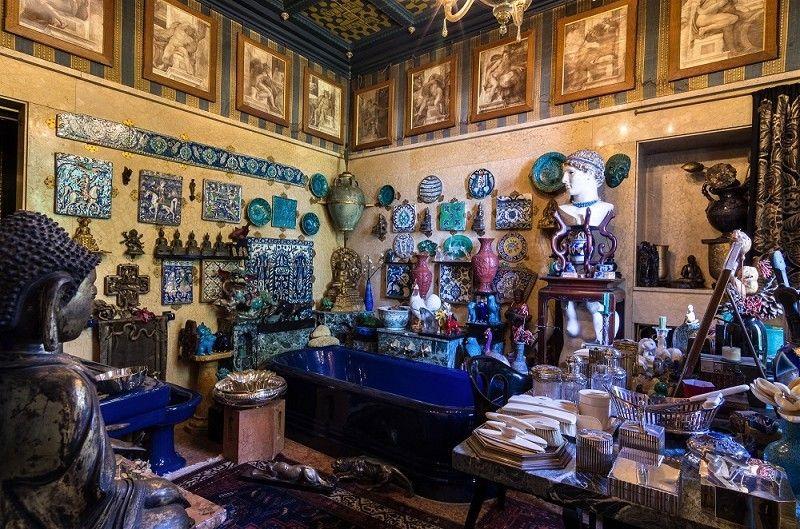 Turca Bagno ~ Il bagno con le ceramiche turche al vittoriale Вилла vittoriale