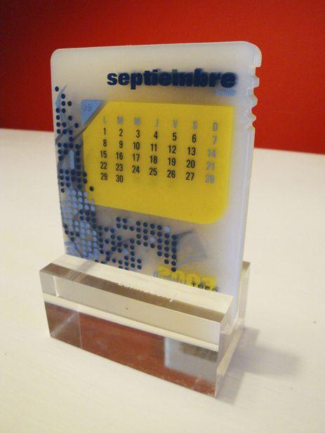 Museum Of Creative Calendar Design Plastic Calendar Creative