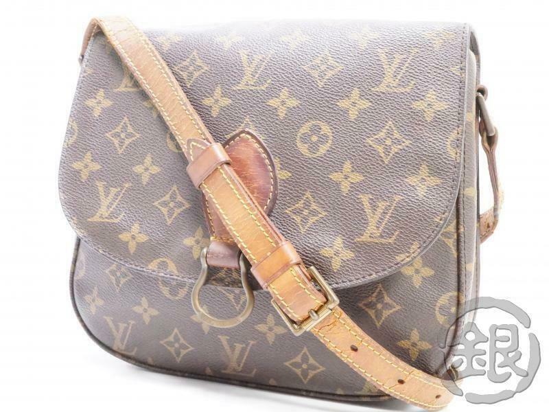 Auth Pre Owned Louis Vuitton Vintage Monogram Saint Cloud Gm Shoulder Bag M51242 Fashion Clothing With Images Louis Vuitton Monogram Louis Vuitton Vintage Louis Vuitton