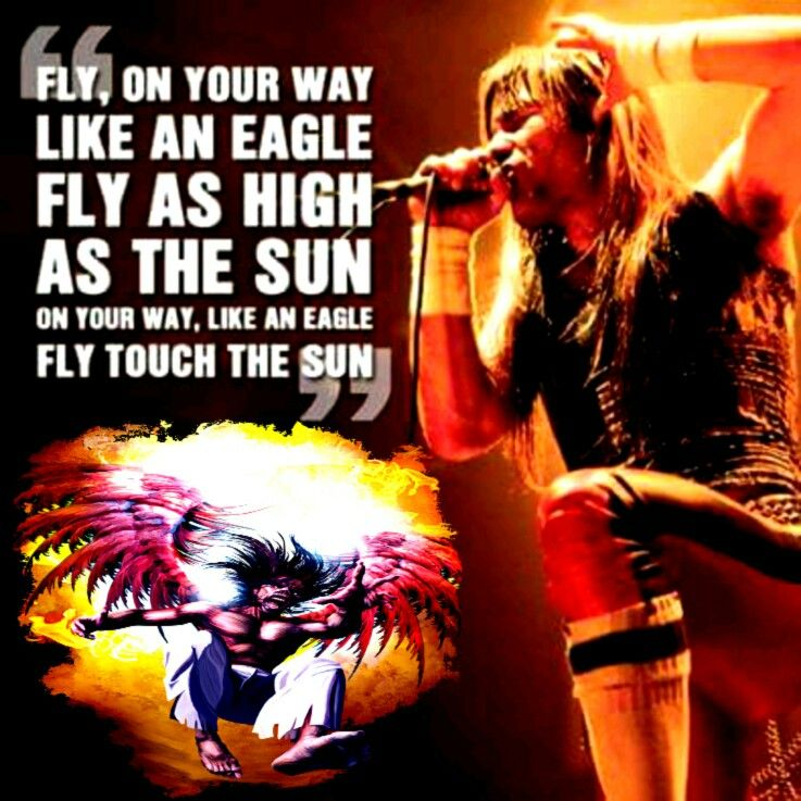 Fly like an eagle iron maiden