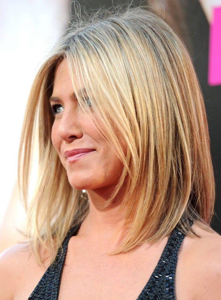 best hairstyles for thin hair womenus jennifer aniston long bob