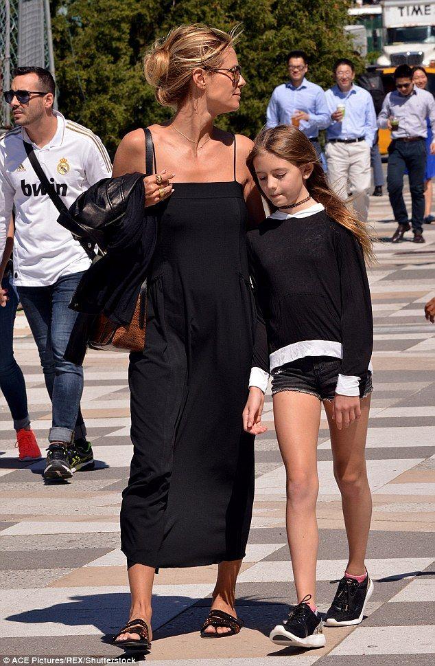 Heidi Klum S Ex Flavio Briatore Admits He Doesn T See Daughter Leni Heidi Klum Style Heidi Klum Heidi