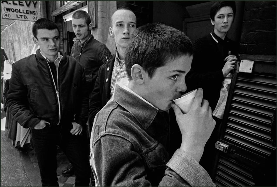 Subculture, Skinheads, East London,1980, photo: Ian Berry