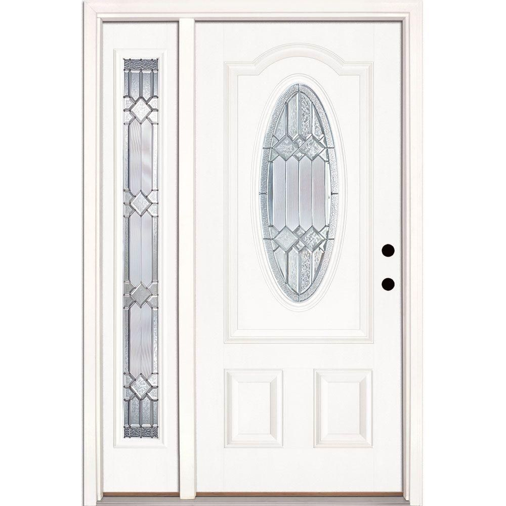 Awesome Unfinished Fiberglass Entry Door
