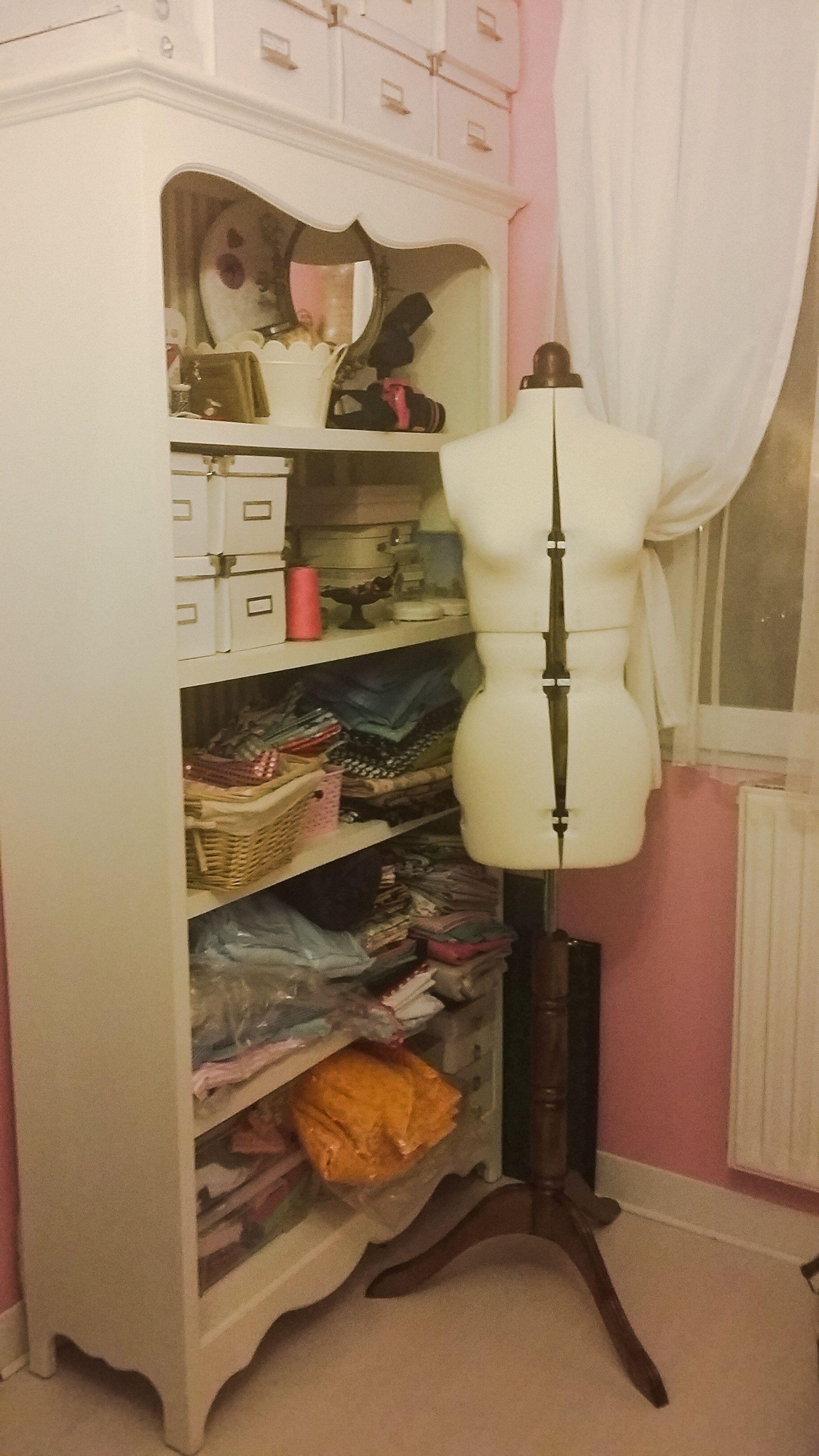 mannequin lady valet et tagre maison du monde dans mon atelier