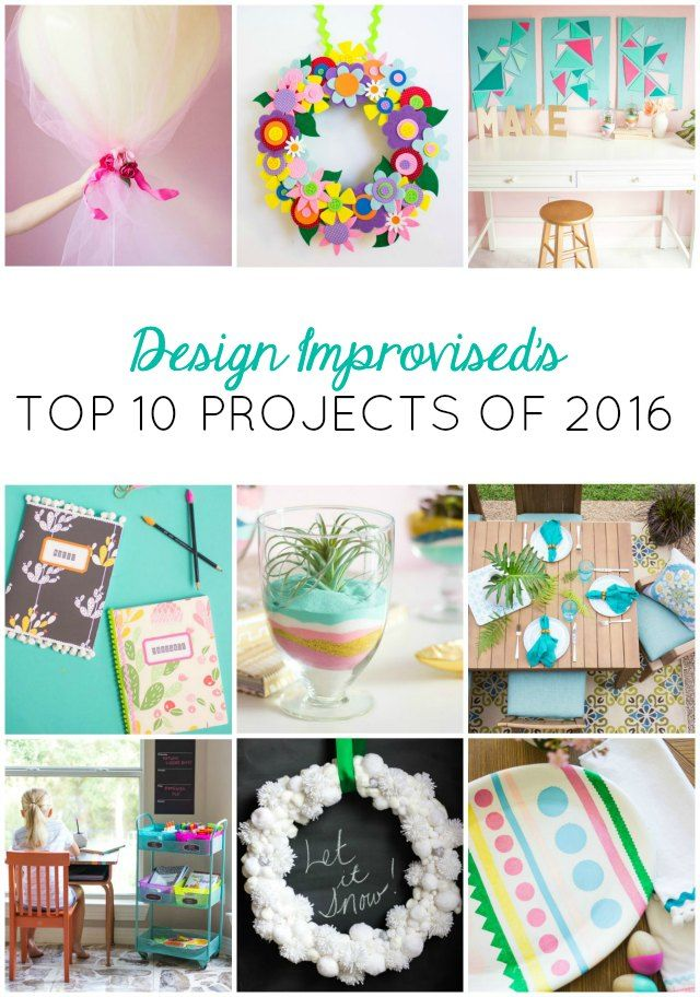 Top 10 Projects of 2016 | PRINT FEB 2018 | Diy craft projects