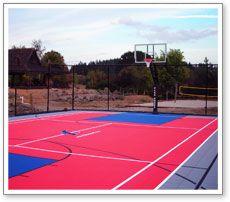 Multi Sports Court Volleyball Tennis Basketball Shuffleboard 4 Square Outdoor Basketball Court Basketball Court Basketball Court Flooring