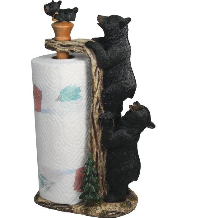 American Expedition Bear Paper Towel Holder