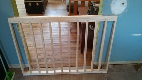 I Built A Sliding Dog Gate From Scratch Baby Gates