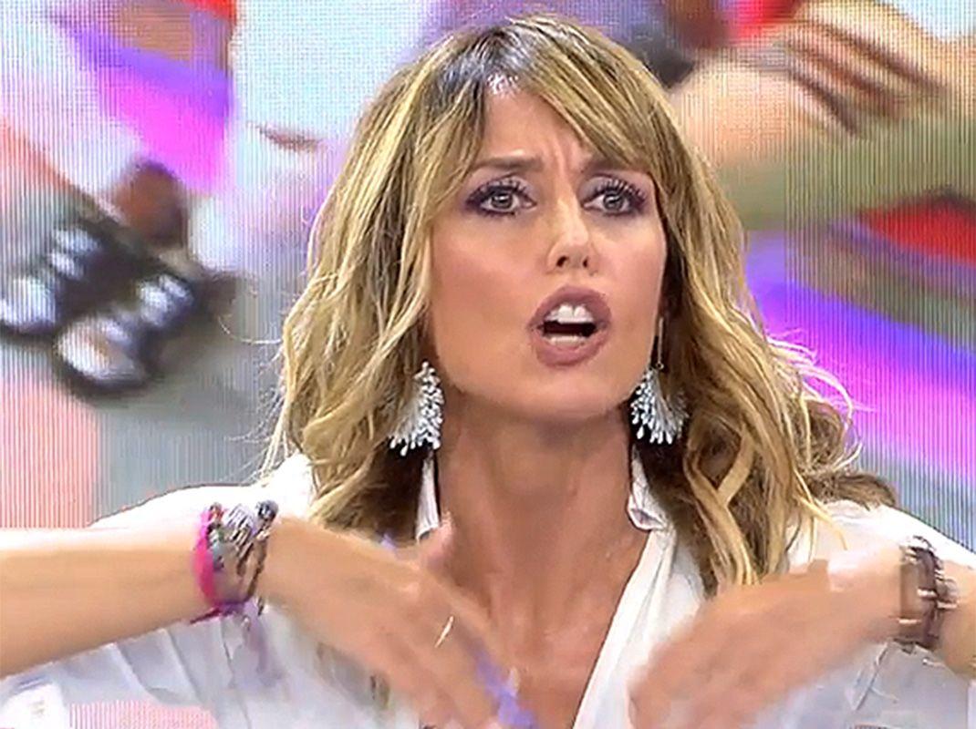 Emma García Muy Enfadada Por Los Ataques A Sofía Suescun Emma Enfado Sofía