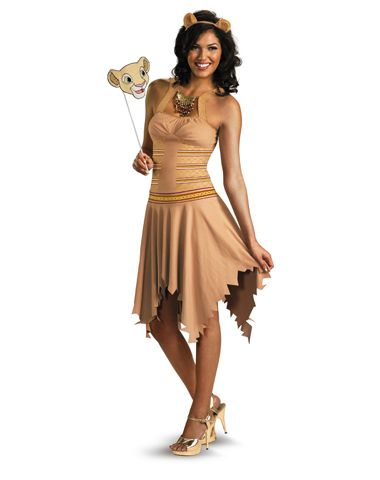 Disney Lion King Sassy Nala Adult Womens Costume....This is just adorbs 5c4002831a