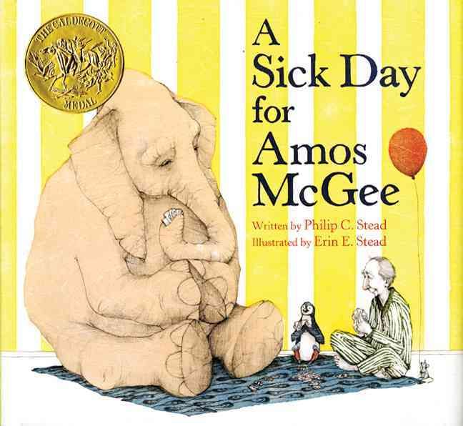 In this Junior Library Guild selection, Amos McGee is too sick to make it to the zoo, so his animal friends decide to return the favor and visit him, making it the best sick day ever. Full color. #HappyReading