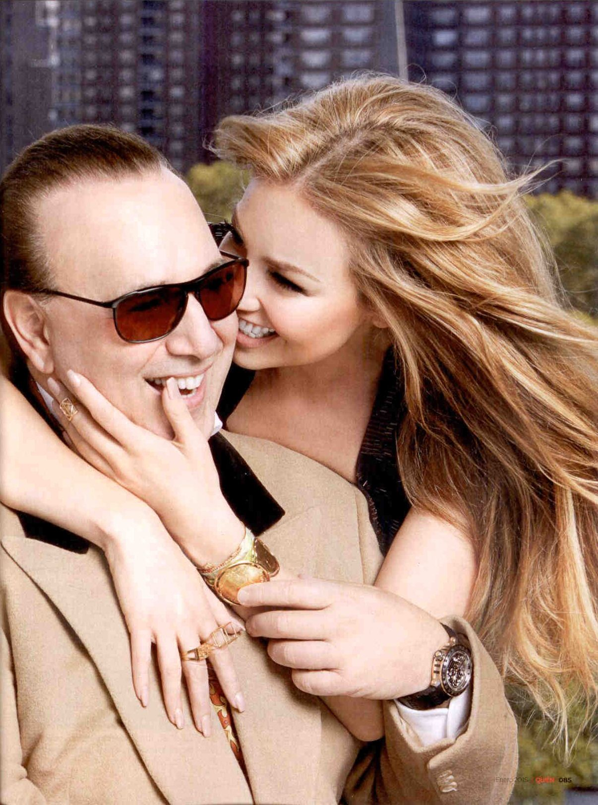 Thalia Wearing The Nyc Ring Cristina Ramella Jewelry Events