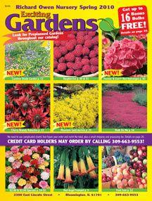 Richard Owen Nursery Website Seed Catalogs Jr Seeds