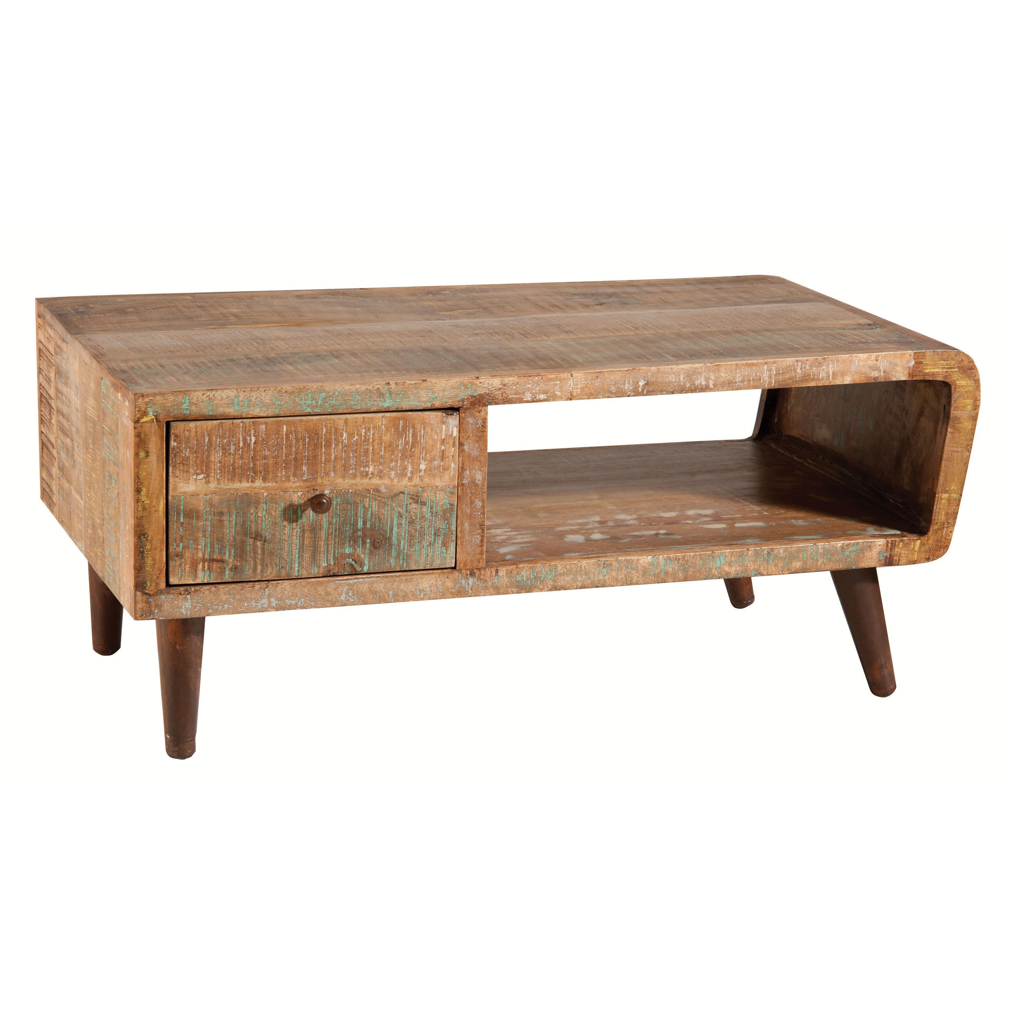 Orbit Distressed Mango Wood Tail Table Ping Great Deals On Coffee Sofa End Tables