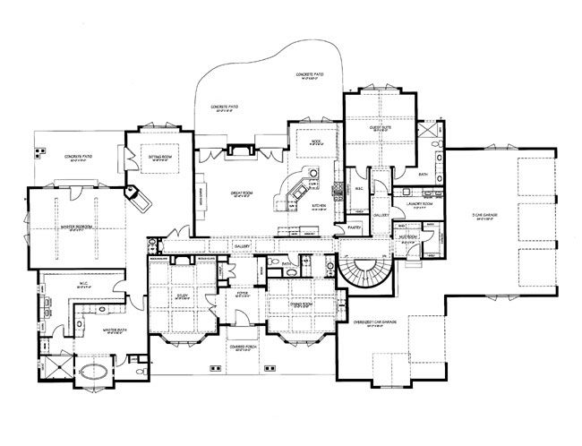 French Chateaux Floor Plans Classic Gallery