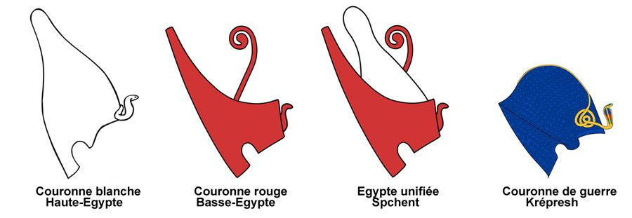 couronnes égyptiennes