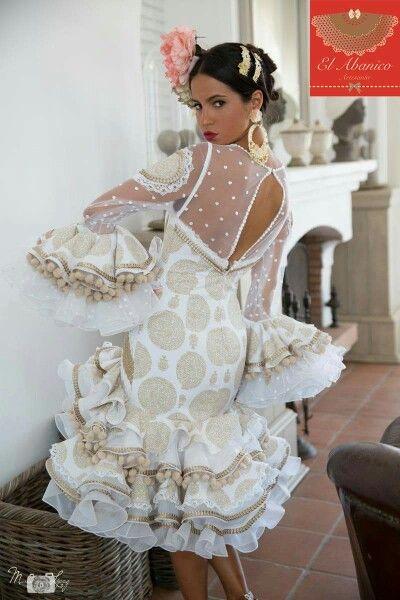 4a1324393 El abanico artesanía | Moda flamenca en 2019 | Flamenco, Flamenco ...