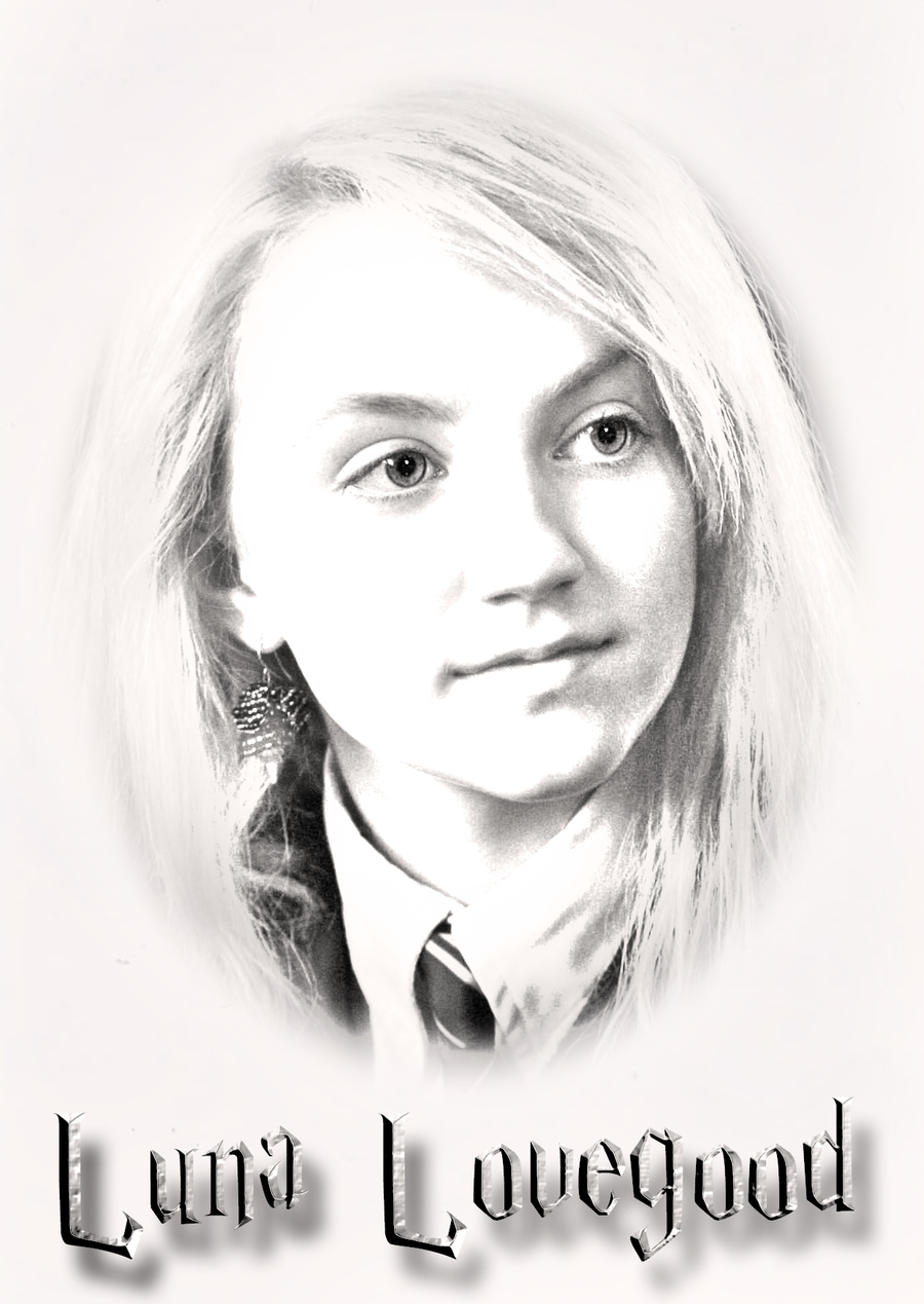 Image Result For Luna Lovegood Drawing Luna Lovegood Drawing Luna Lovegood Coloring Pages