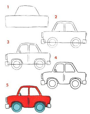 Dibujar medios de transportes terrestres ~ Rayito de Colores ...