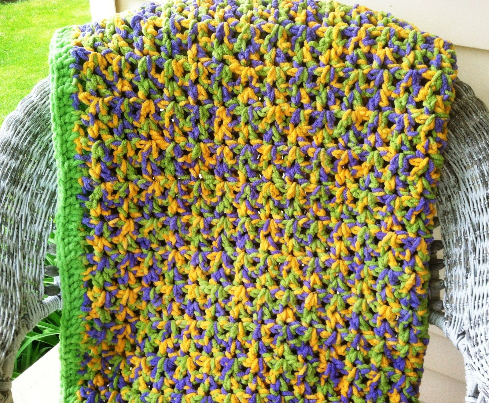 Kays list of work from home my newest bernat baby blanket crochet pattern quick easy crochet afghan using bernat baby blanket yarnbernat baby blanket yarn isnt just for babies anymore i made this pattern for bankloansurffo Images