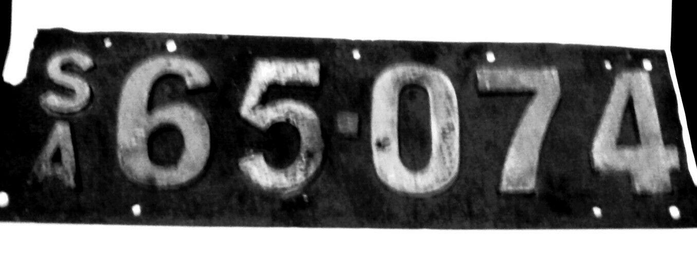 SA vintage car number plate | rat | Pinterest | Car number plates