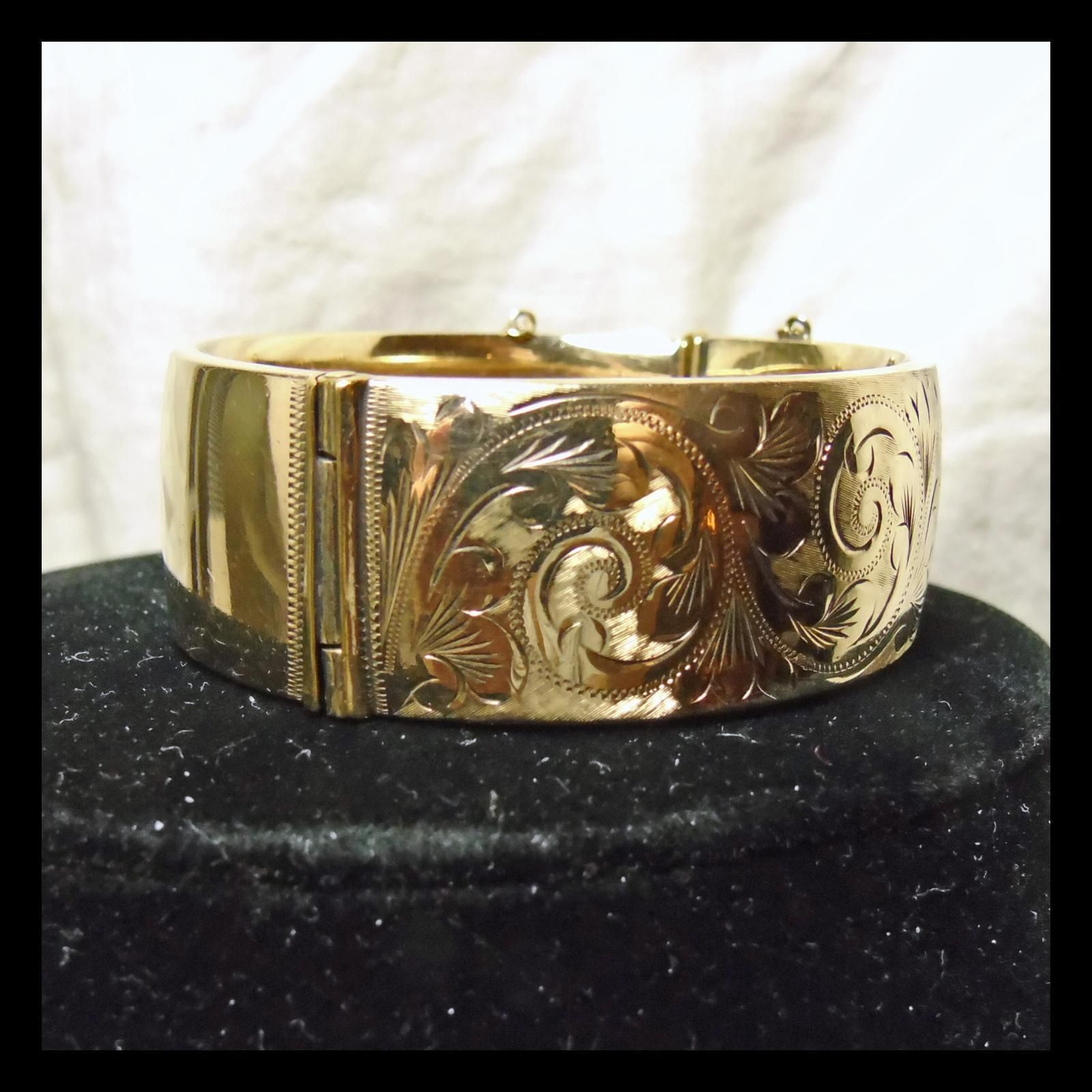 Victorian rolled gold bangle bracelet gold bangles victorian and