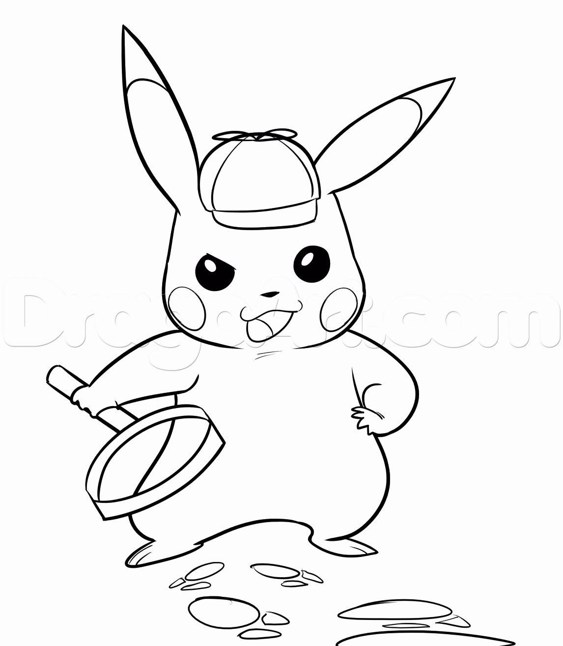 34+ Detective pikachu coloring pages info