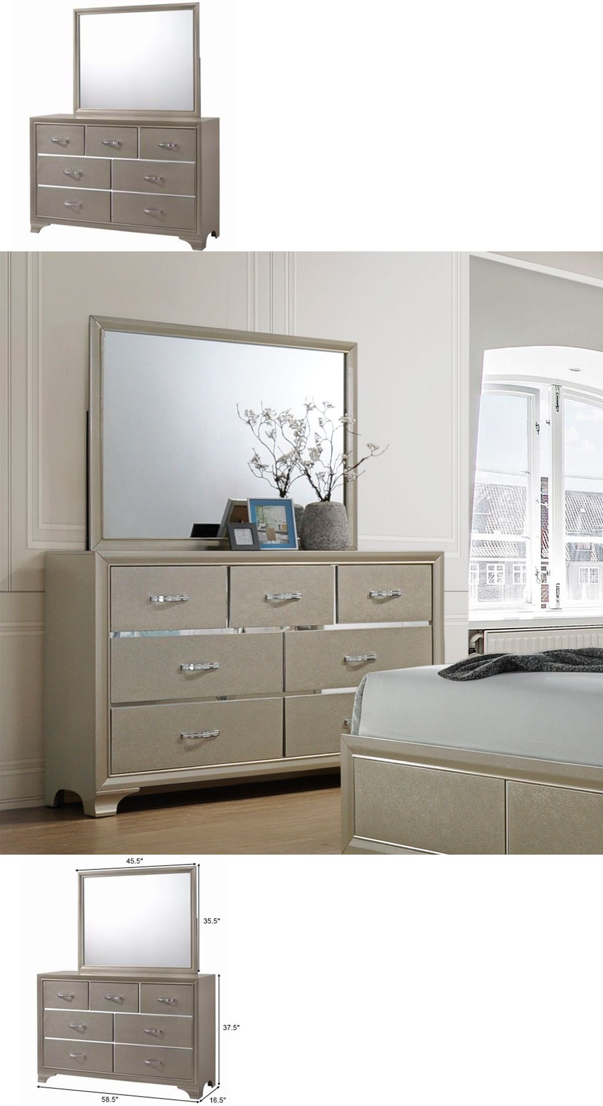 Dressers And Chests Of Drawers 114397 7 Drawers Dresser Chest Andmirror Set Storage Cabinet Luxury Furnitur Cabinets For Sale 7 Drawer Dresser Storage Cabinet