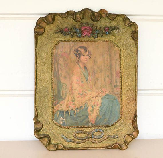This gorgeous print of Alice Blue Gown is permanently framed within ...