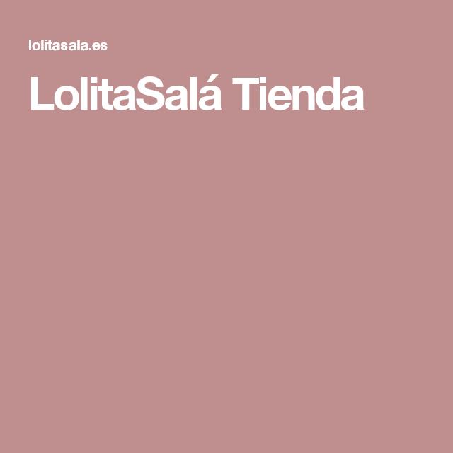 LolitaSalá Tienda