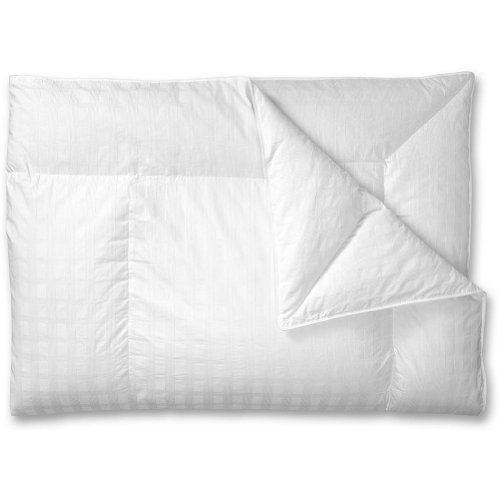 Eddie Bauer Superior Goose Down Comforter Light White Queen