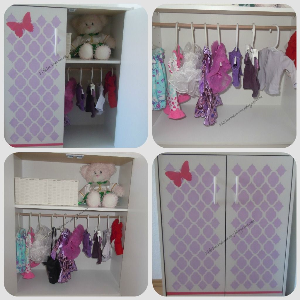 Where Does Your American Doll Keep Her Clothes In Diy Dresser