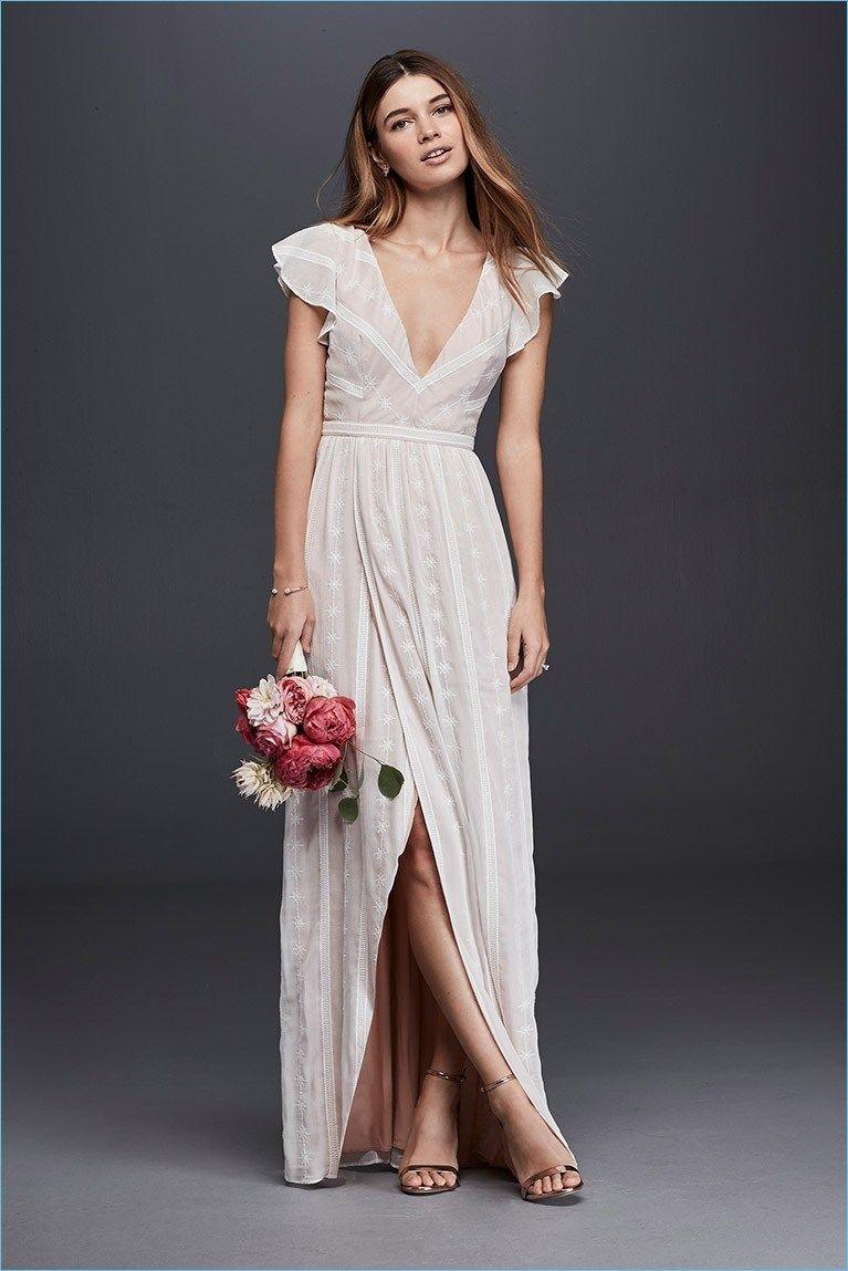 48 Gorgeous Garden Wedding Dresses For Older Brides Ideas Fashion And Wedding Casual Wedding Dress Casual Wedding Backyard Wedding Dresses