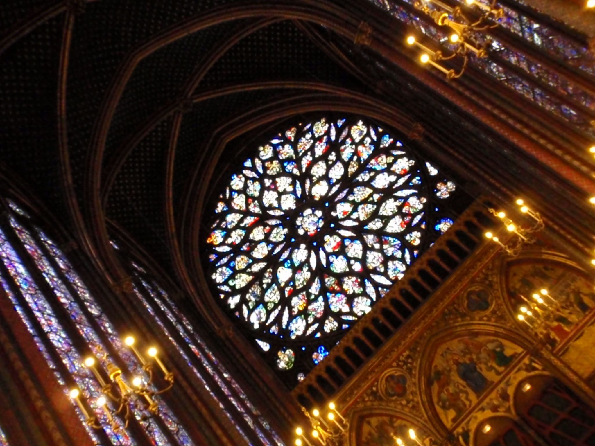 La Santa Capilla de París - Vidrieras