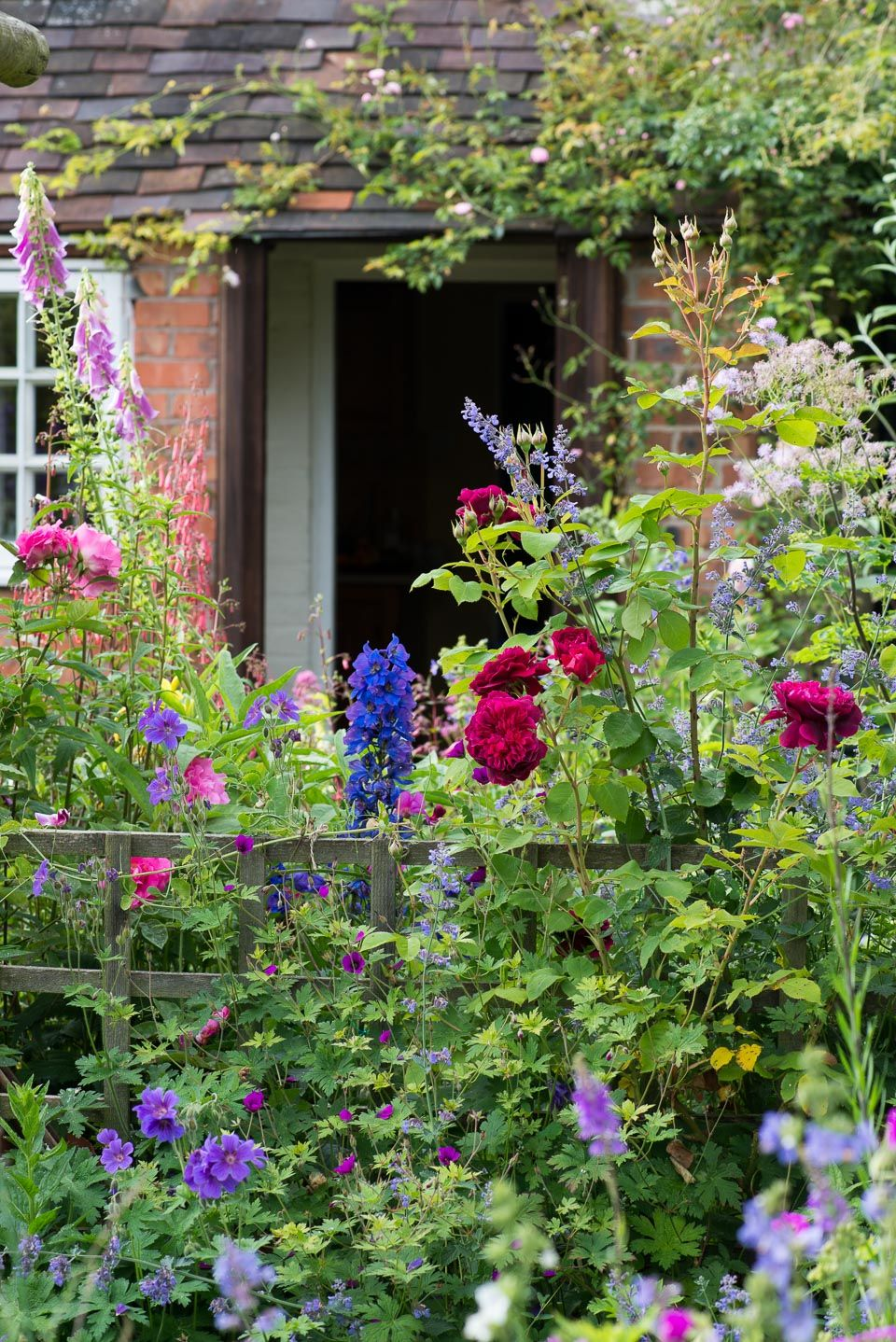 An English Cottage Garden Worcestershire English Country