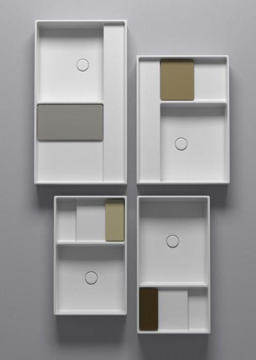 Accessori Per Bagno Globo.Ceramica Globo Display Collection By Gamfratesi Materiel